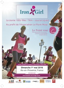 Flyer Irongirl du Pays d'Aix 2016