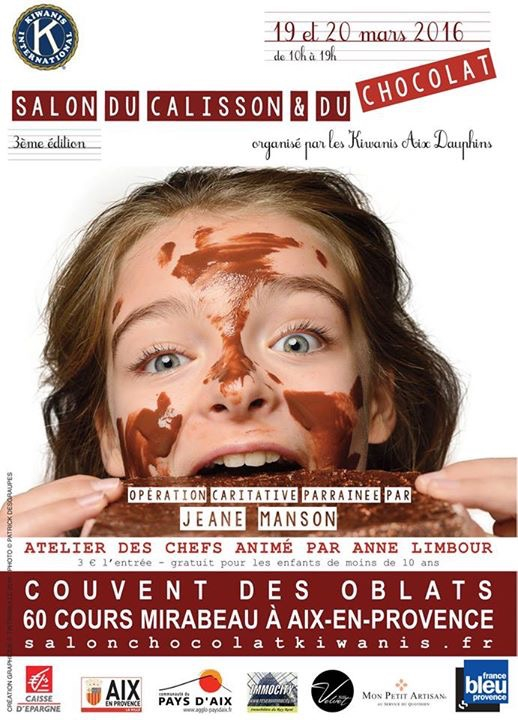 UN SALON DU CALISSON & DU CHOCOLAT POUR LE POINT ROSE!
