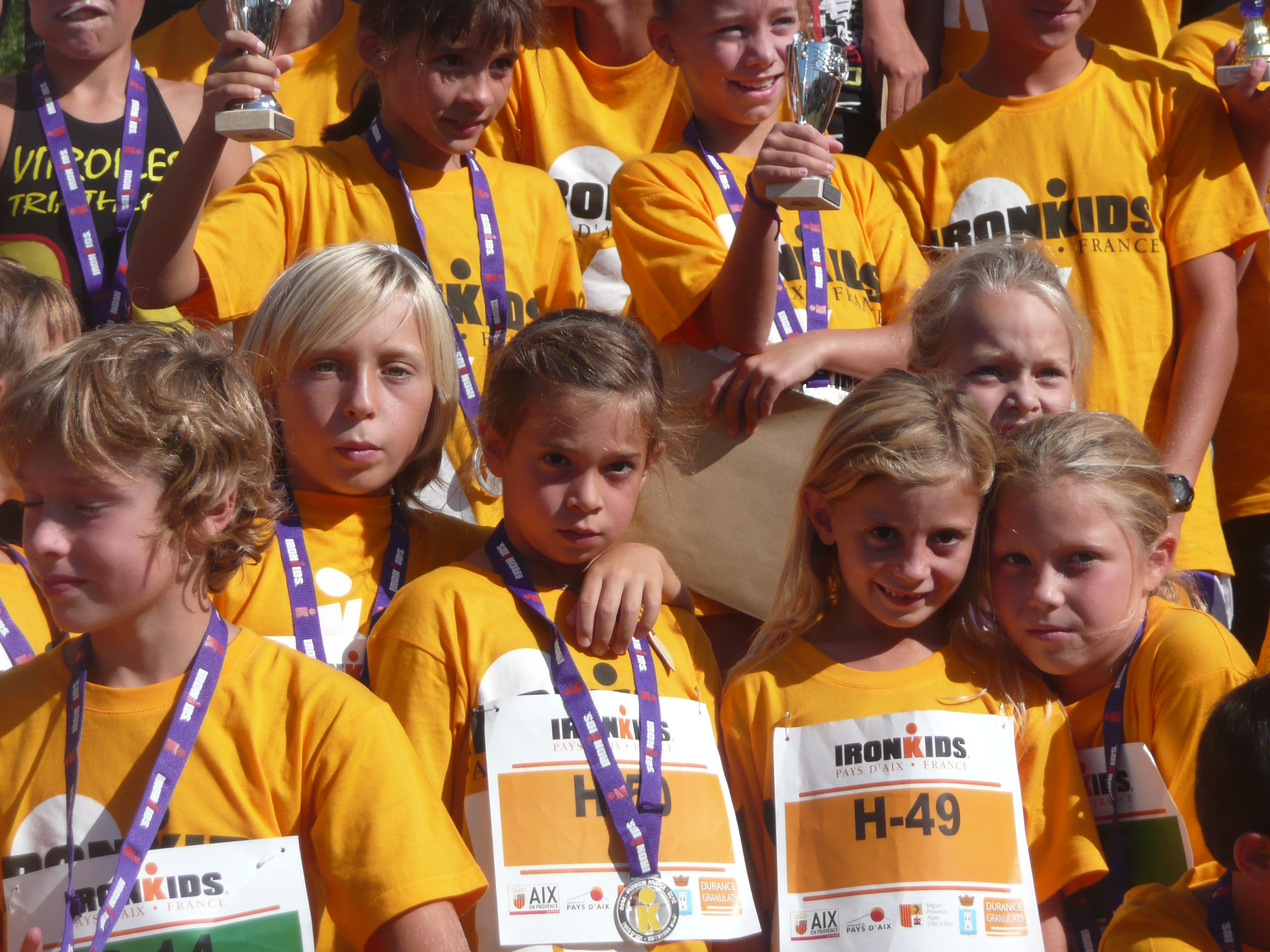 Ironkids, Irongirl du Pays d'Aix : Le Point rose en point de mire !