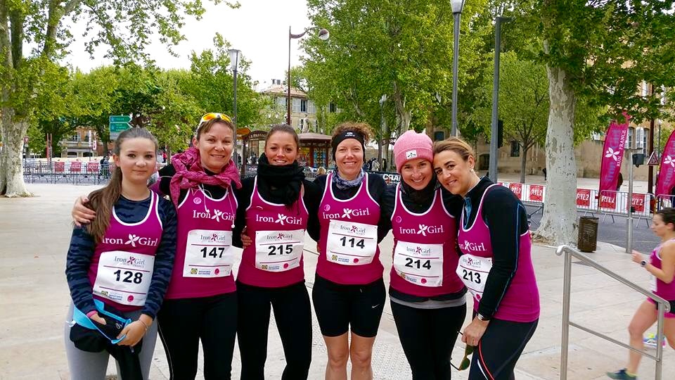 La team des Ladies of Marseille