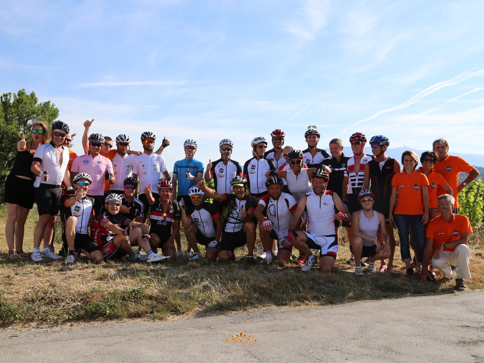 Le Challenge Vélo Nice-Mont Ventoux roule pour Le Point rose