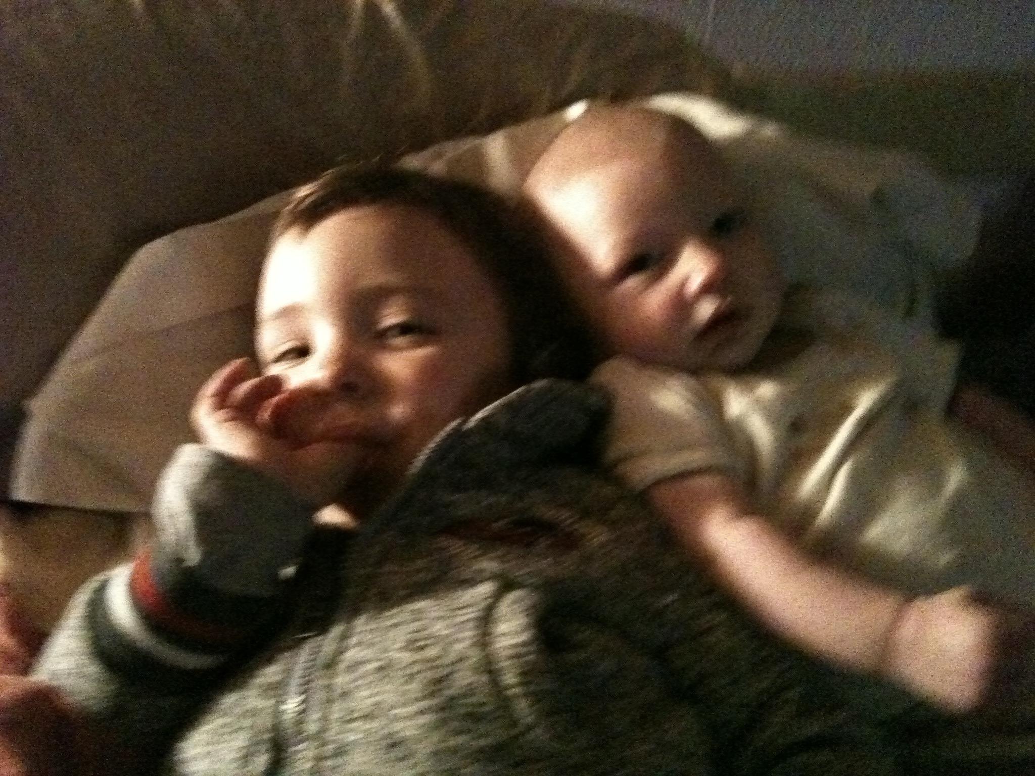 Lucas et Adam