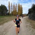 Marie-Aude au marathon de Salon de Provence