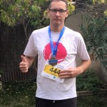 Hervé au marathon de Salon de Provence