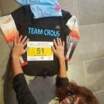 Marie-Aude Pinkette au marathon de Salon de Provence