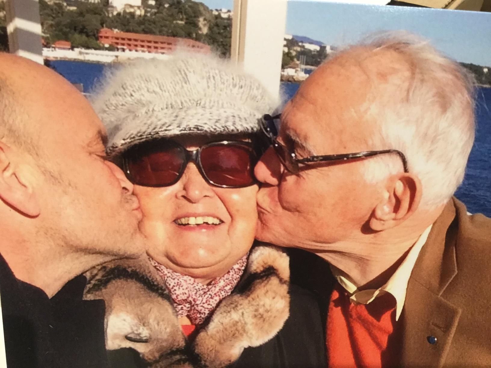 Colette, l'amour et l'adieu de la doyenne des mamans du Point rose