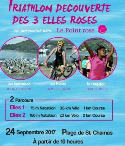 triathlon saint chamas