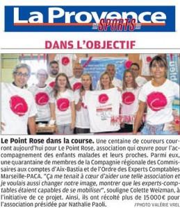 La Provence des Sports, 29 octobre 2017