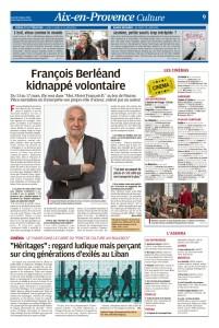 La Provence , 3 mars 2018