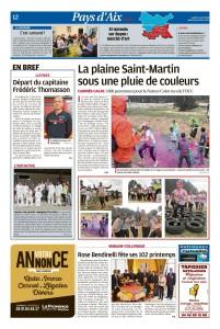 La Provence, 09 avril 2018