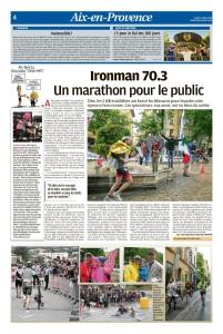 La Provence, 14 mai 2018