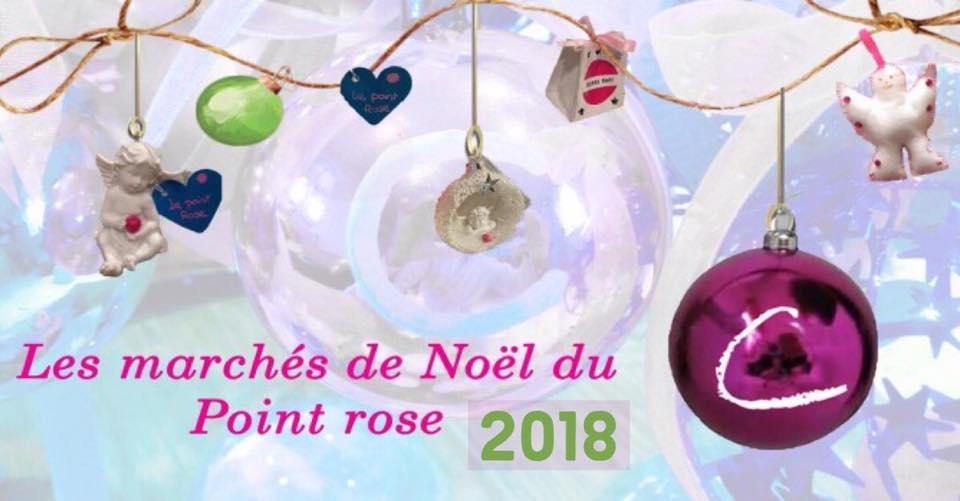 Toutes les dates des marchés de Noël 2018 du Point rose