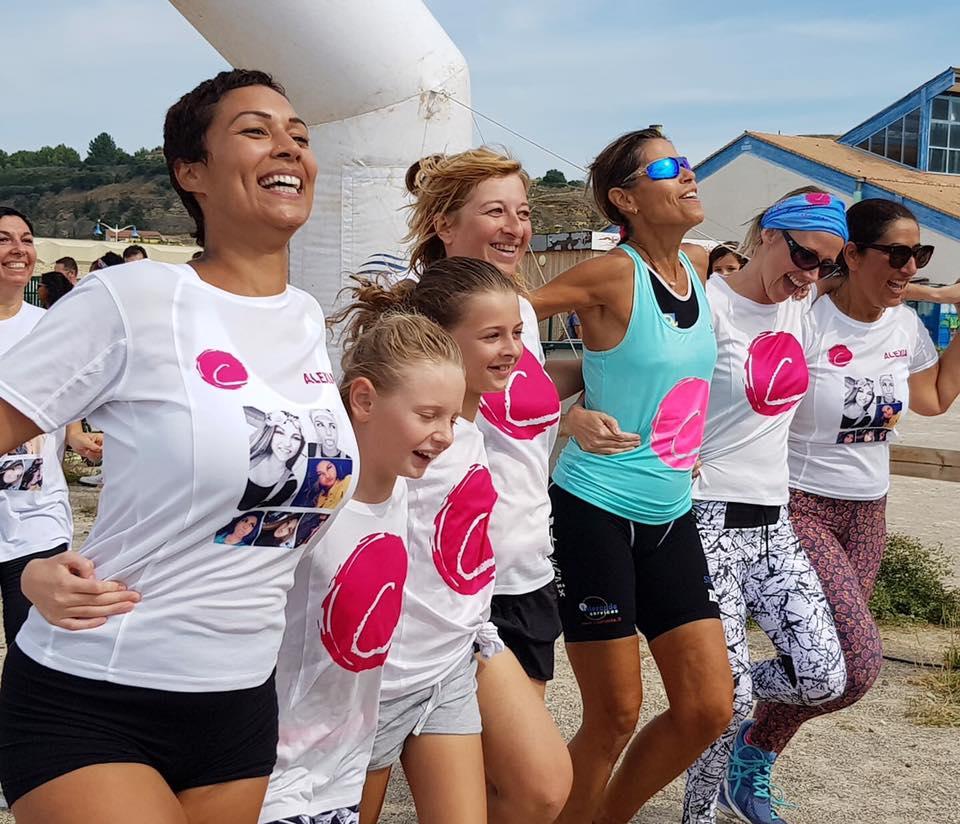 Run for le Point rose : La marseillaise des femmes