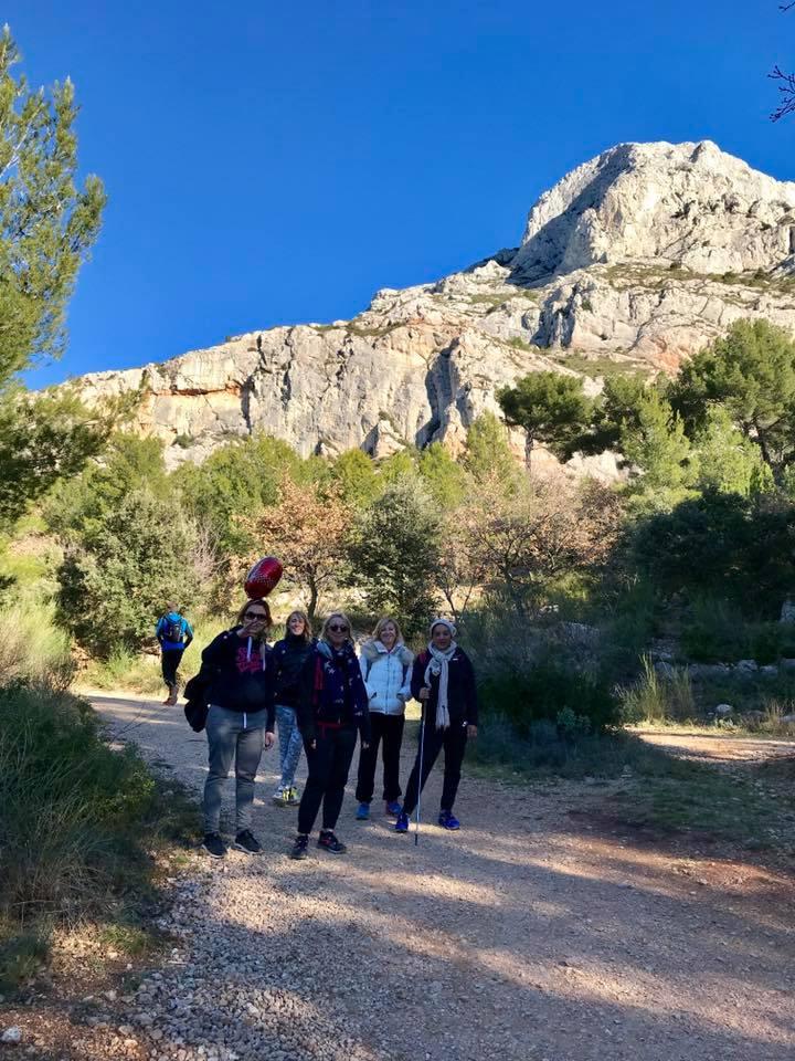 Les randonnées  🥾  en hommage aux enfants Point rose 💞