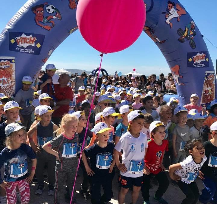 Run in Marseille 2019 – les enfants courent le Marathoons !