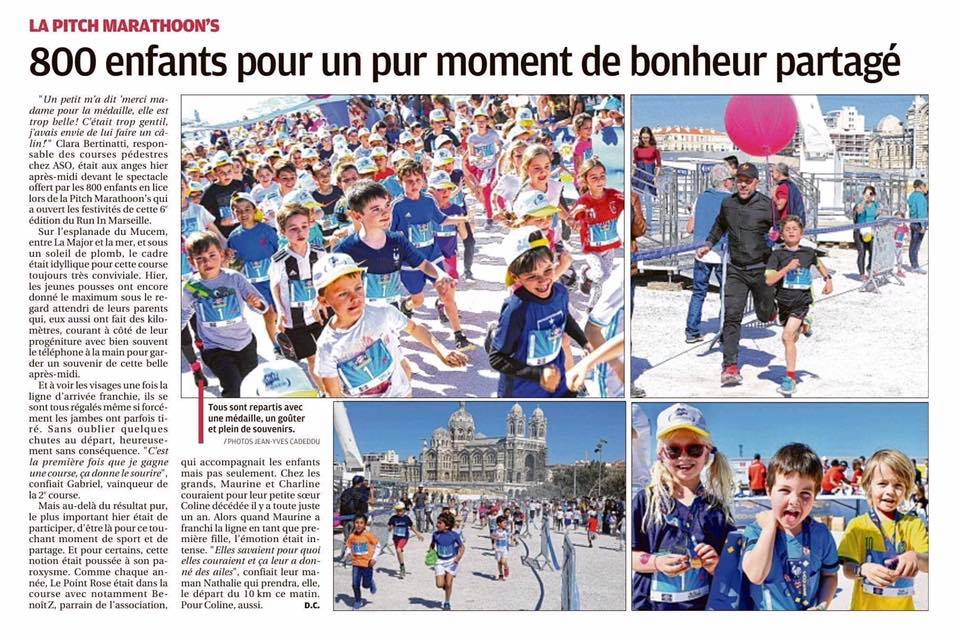 Run in Marseille – Marathoons – La Provence, 25 mars 2019