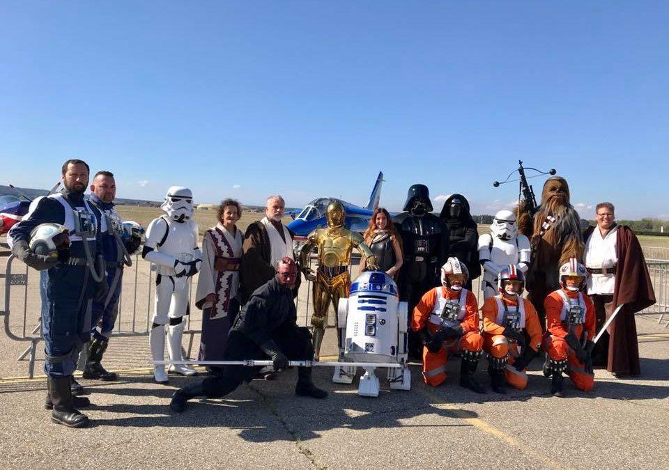 l'envol des princes avec Star Wars !