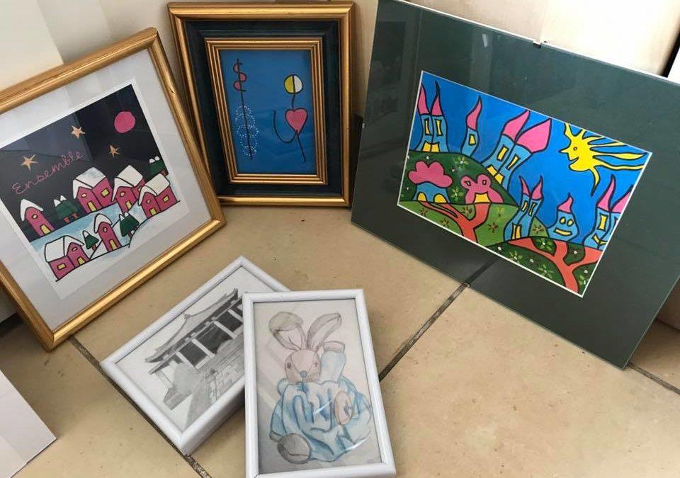 Témoignage à l'occasion de l'expo Art-thérapie et couleur