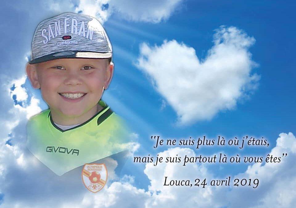 Cérémonie pour Louca, 1 an après son envol
