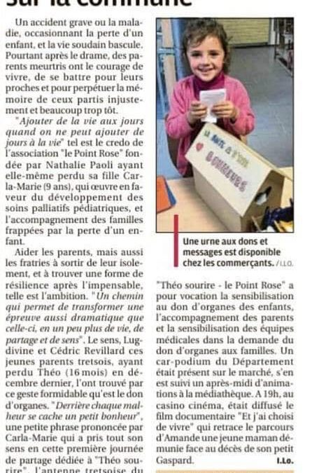 Lancement de la Vague rose sur Trets – La Provence, 19 mai 2019