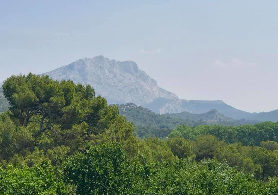 Sainte Victoire le Point rose