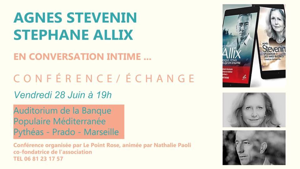 Conférences Stéphane Allix & Agnès Stevenin