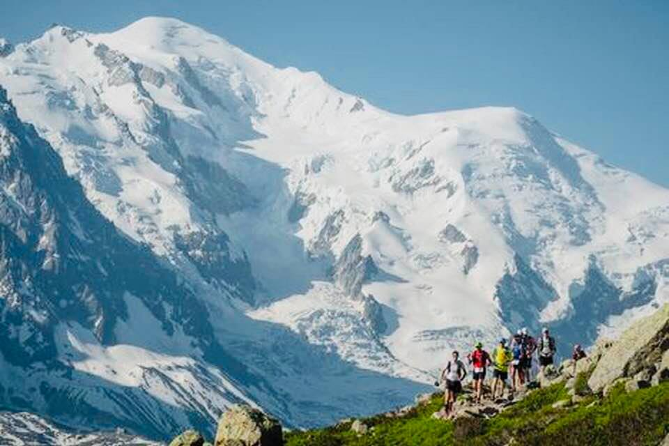 Défi sportif, 90 km du Mont Blanc