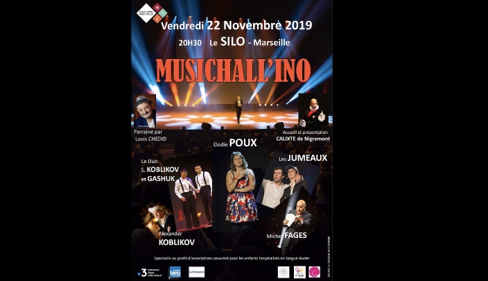 Soirée spectacle – Musichall'ino