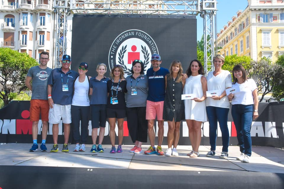 Le Point rose reconnu par l'organisation IRONMAN