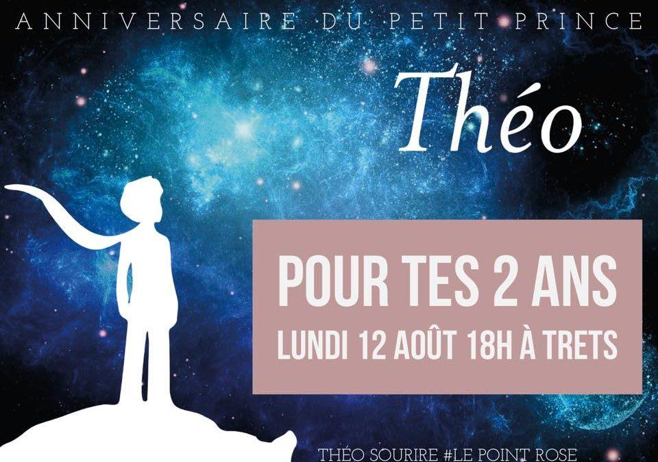 Les 2 ans de Théo