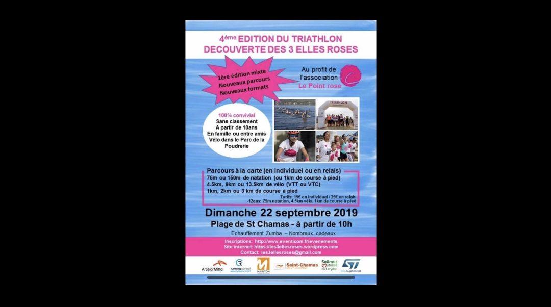 Triathlon des 3 Elles Roses