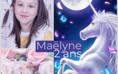 Hommage à Maëlyne, 2 ans de ton envol
