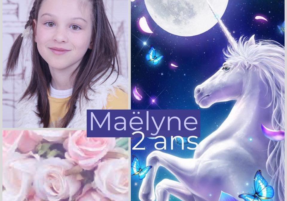 Maëlyne 2 ans le Point rose