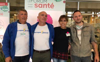 Le Point rose au Grand Forum Santé / don d'organes
