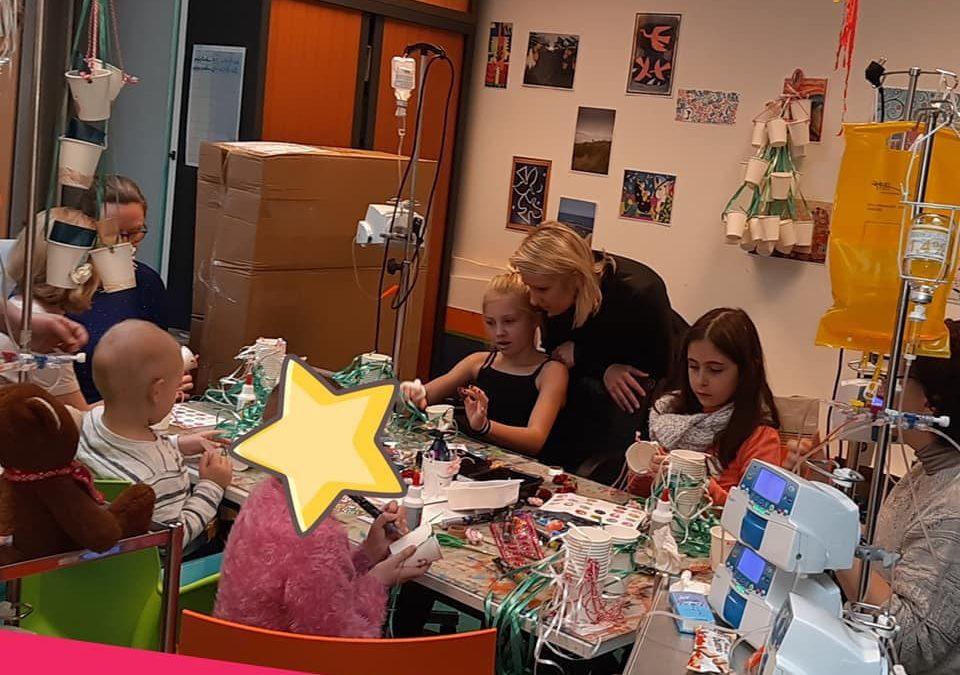 Atelier créatif à l'hôpital