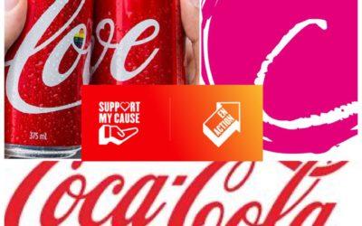 Coca-Cola et Le Point rose