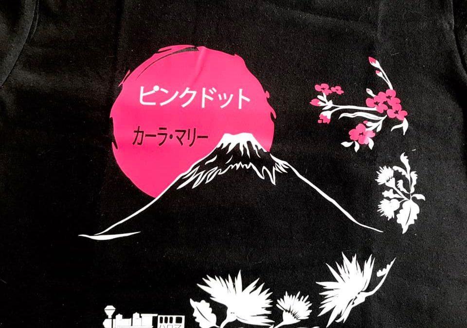 Un tee-shirt spécial pour Le Point rose