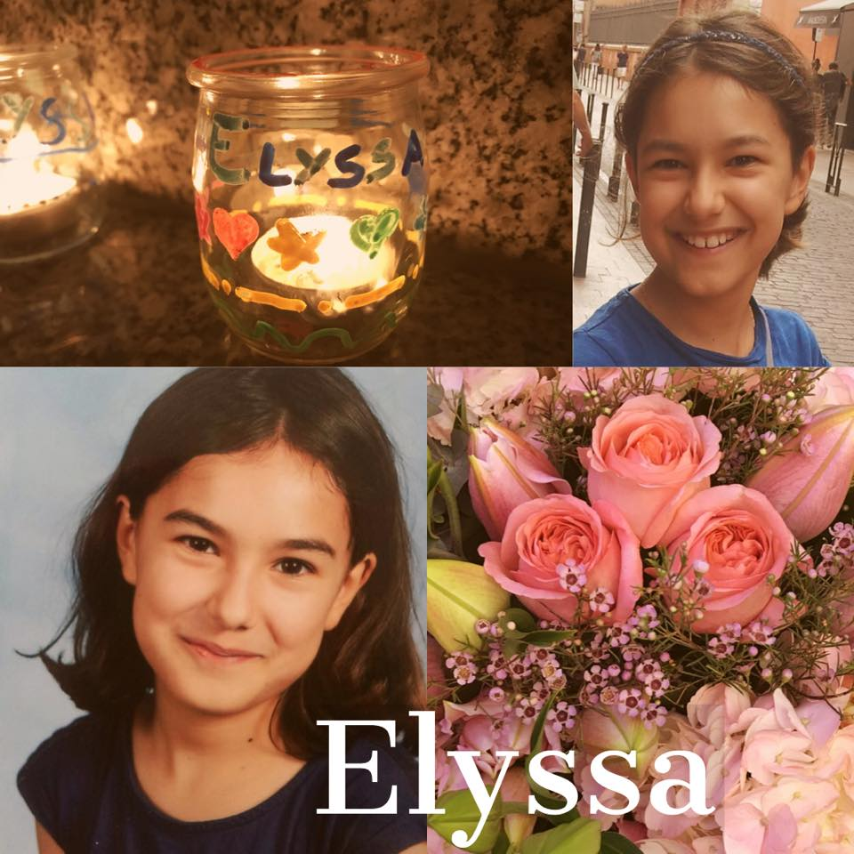 Elyssa 1 an, le 4 décembre 2019