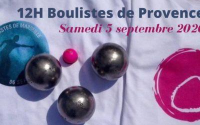 12h boulistes de Provence