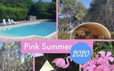 Pink summer day été 2020