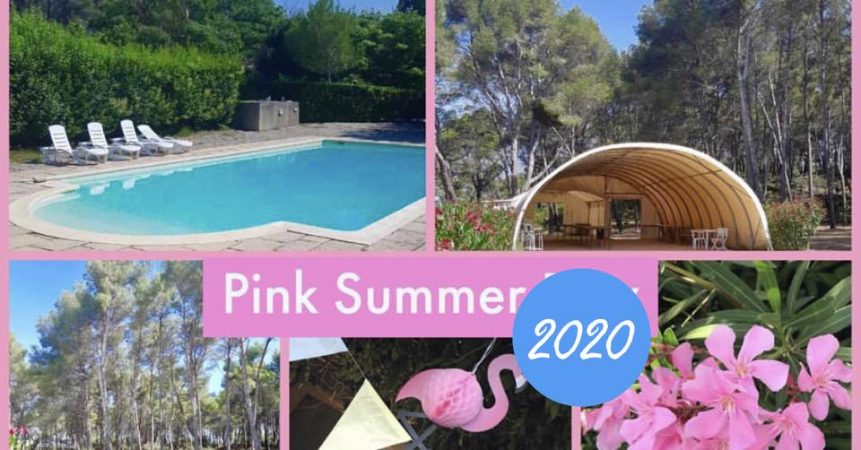 Pink summer day été 2020