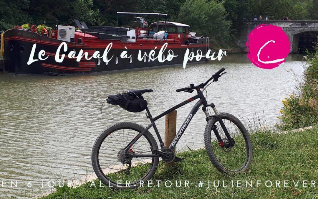 Défi, le canal du midi à vélo