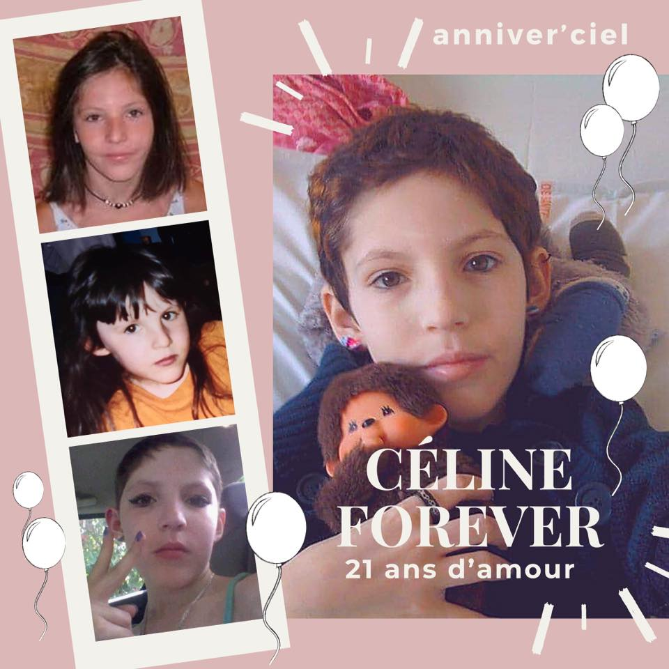 Céline 21 ans 24 juillet 20