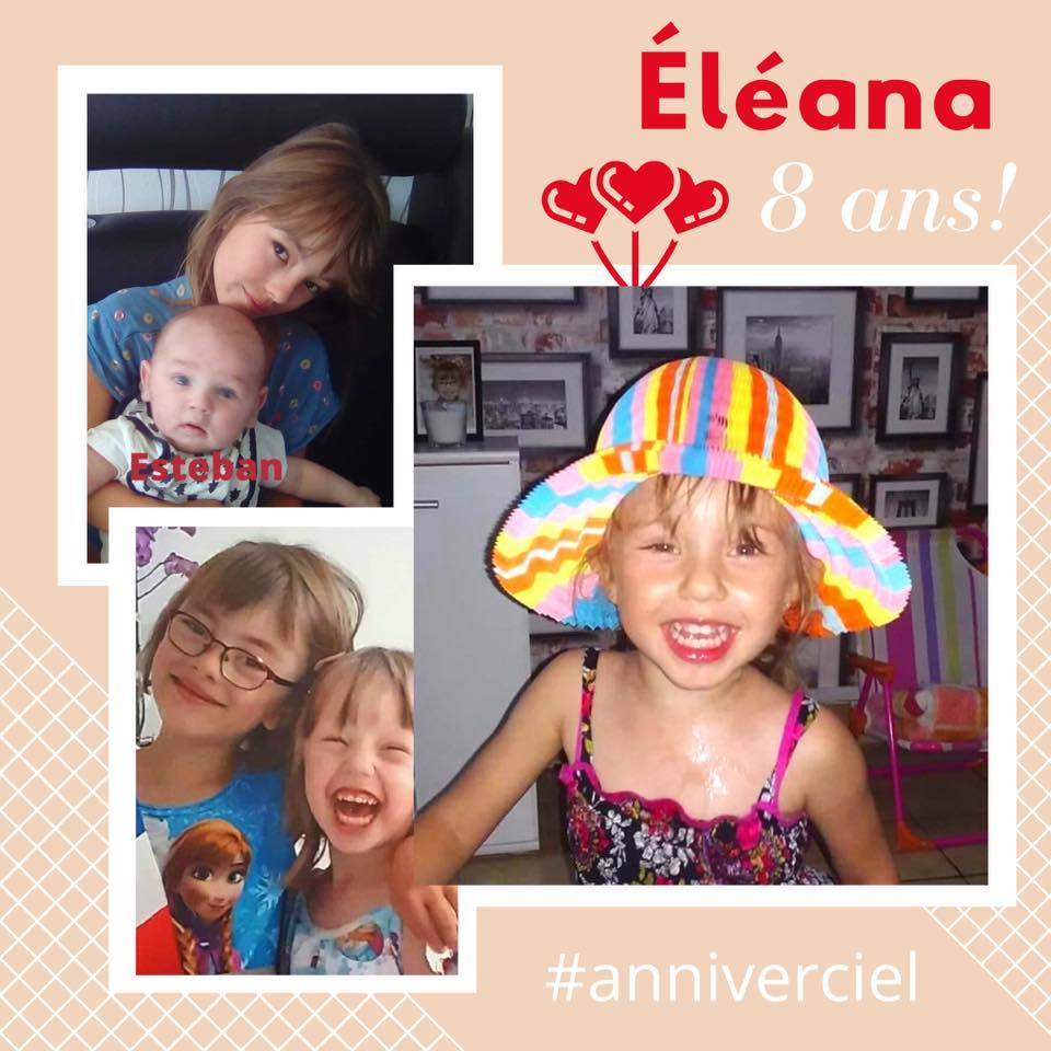 Eleana 8 ans 26 juillet 20