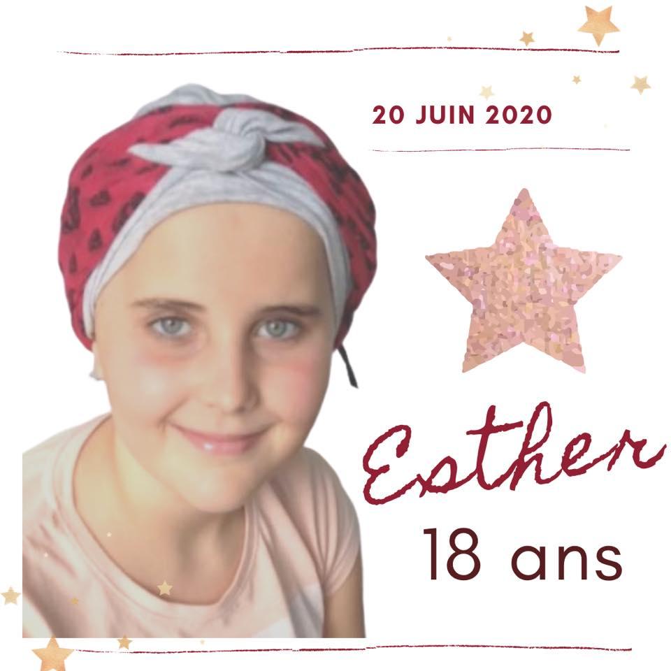 Esther 18 ans 20 juin 20