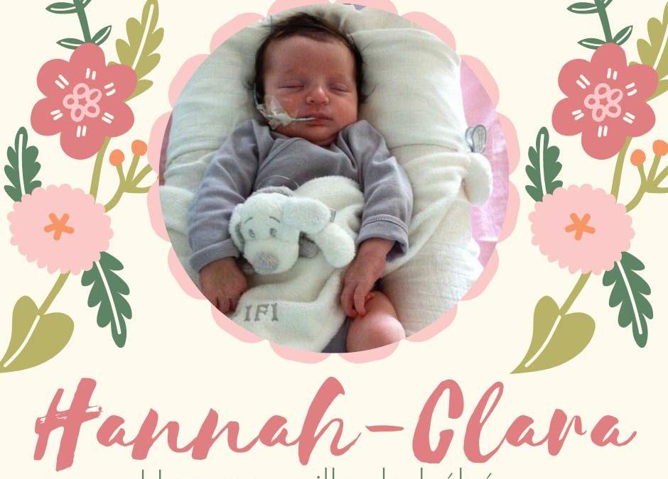 Hannah-Clara, une merveille de bébé