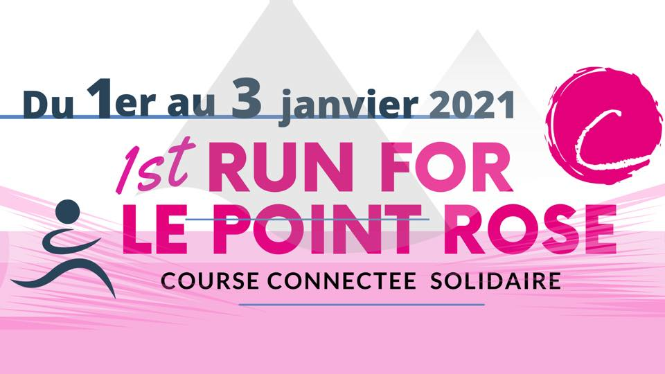 Run for le Point rose, la course du Point rose
