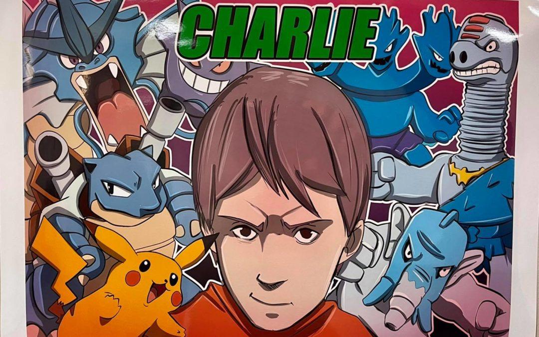 Pour Charlie, «Yosh 1 dessin, 1 sourire»