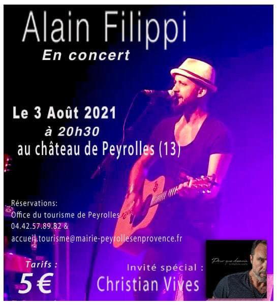 Concert Alain Filippi