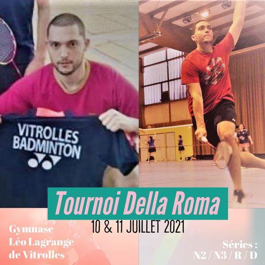 Tournoi Della Roma, badmington